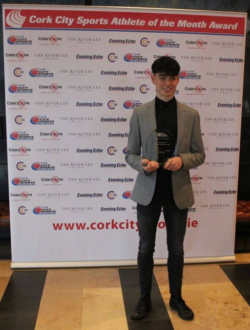 darragh mcelhinney cork city sports athlete of the month november 2018 34