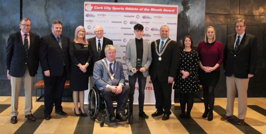 darragh mcelhinney cork city sports athlete of the month november 2018 8