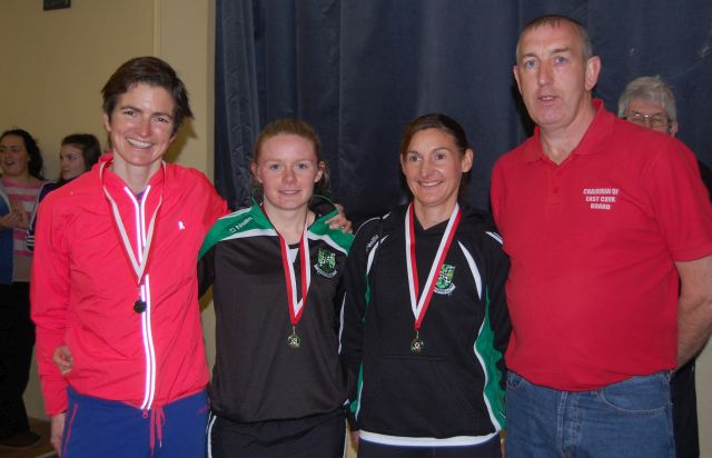 East Cork Road Championships 2015 - Winning Womens Team - Midleton AC