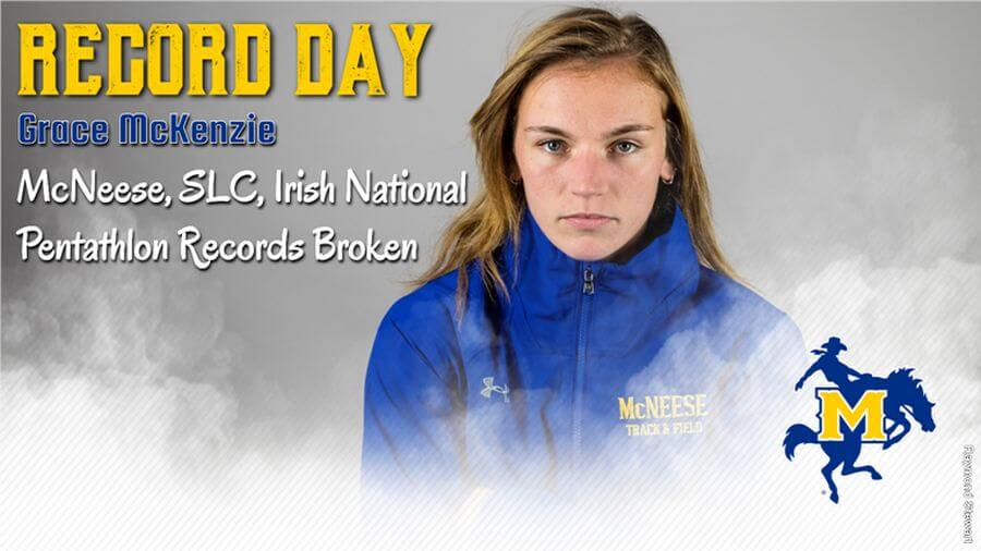 grace mckenzie mcneese state banner january 2019