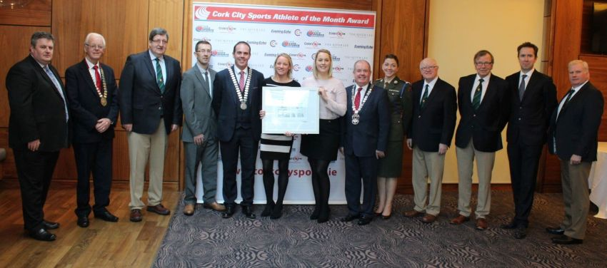 cork city sports athlete of the year award 2017 group presentation