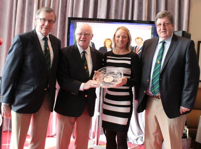 cork city sports athlete of the year award 2017 jill hodgins presentation