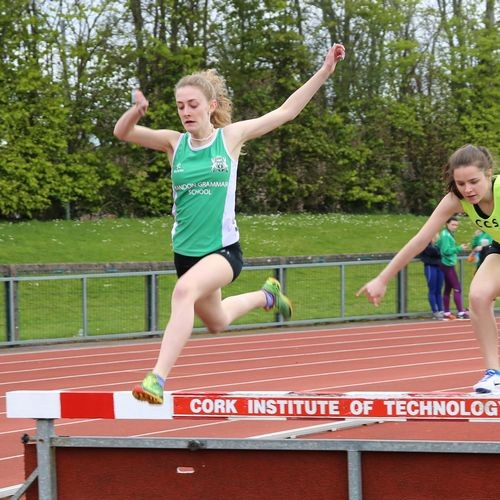 Laura Nicholson 1st in Inter Steeplechase 500x500 Bandon Grammar Photo