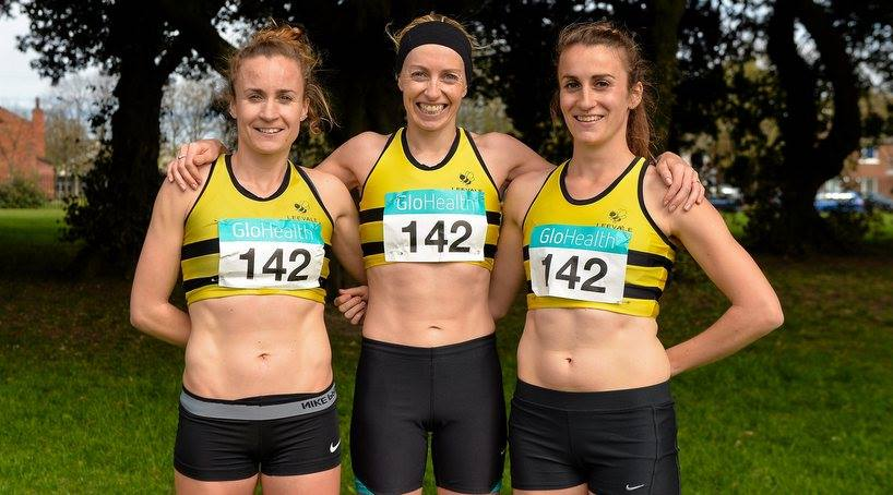 Leevale Women - National Road Relay Champions 2015