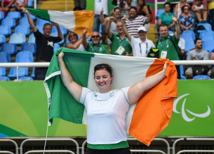 Orla Barry Takes F57 Discus Rio Paralympic Silver min