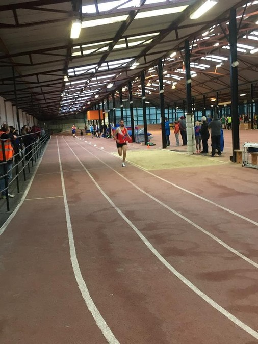 Paul Moloney Mallow AC Munster Masters Indoors 2017