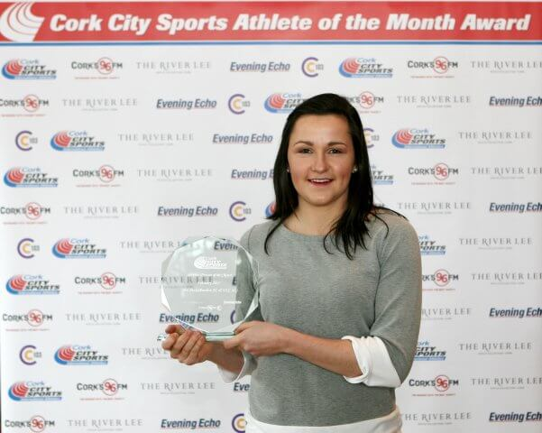 Phil Healy Cork City Sports Athlete of Month February 2017 2