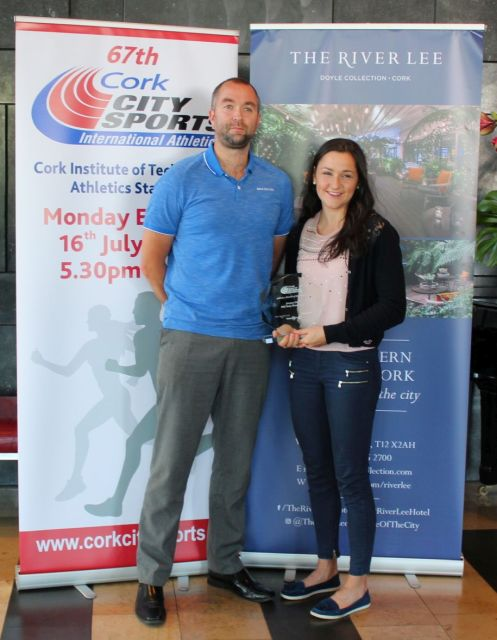 phil healy cork city sports athlete of the month jan 2018 shane mccormack a