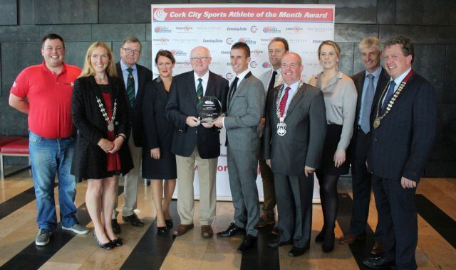 rob heffernan cork city sports athlete of the month august 2017 sponsors