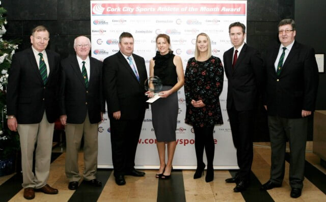 sinead kevaney cork city sports athlete of the month october 2016
