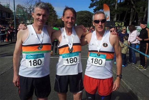 St Finbarr's M50 Team - National Road Relay Champions 2015