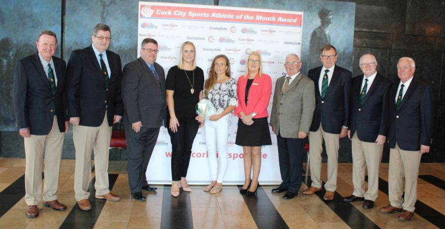 michelle finn leevale ac cork city sports athlete of the month july 2018 cc