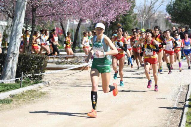 michelle kenny leevale ac leads european masters cross country madrid 2018a