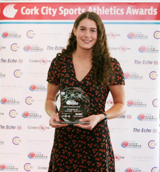 nicola tuthill bandon ac ccs athlete of the month september 2020 a