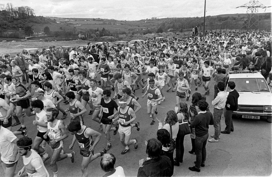 start cork city marathon 1982 a