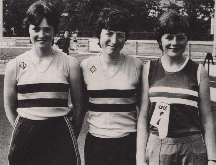 nacai national tandf championships cork 1983 womens high jump