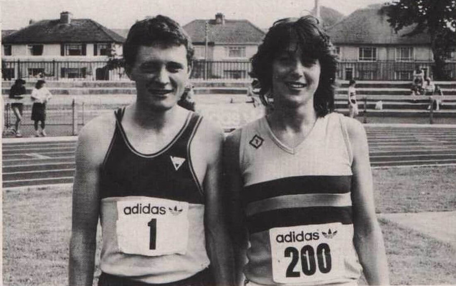 nacai national tandf championships cork 1983 100m champions adams mccoy