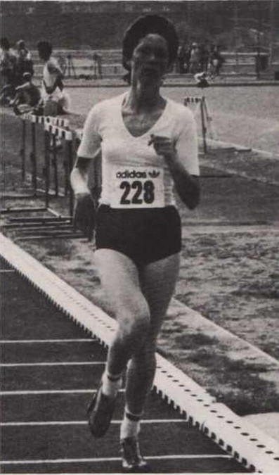 nacai national tandf championships cork 1983 1500m rita malone