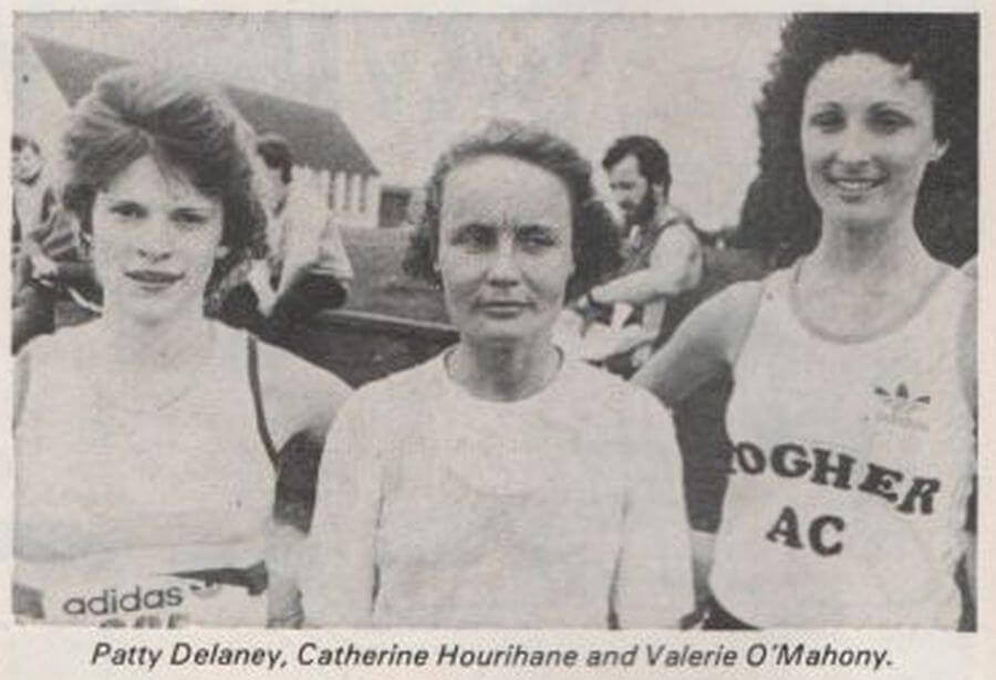 first 3 women togher ac cork 800 8k 1985a