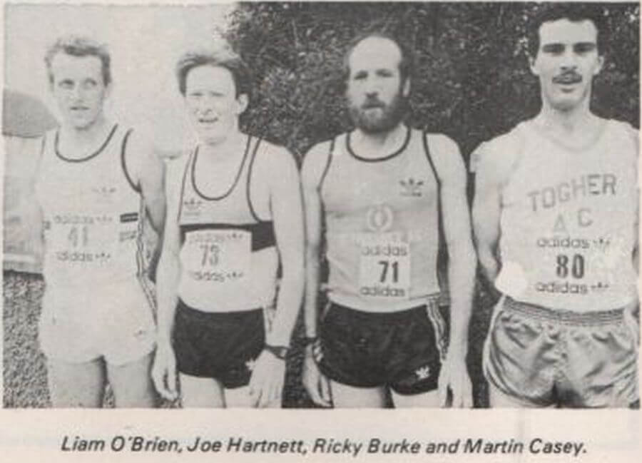 first 4 men togher ac cork 800 8k 1985a