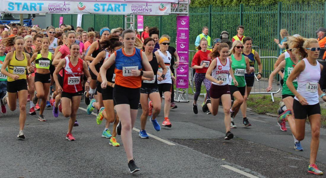 Start of Cork Athletics Womens Mini-Marathon