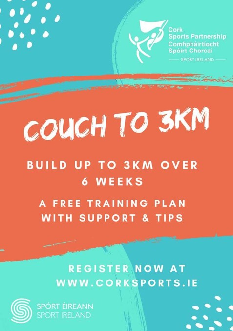 cork sports partnership couch to 3km 2020
